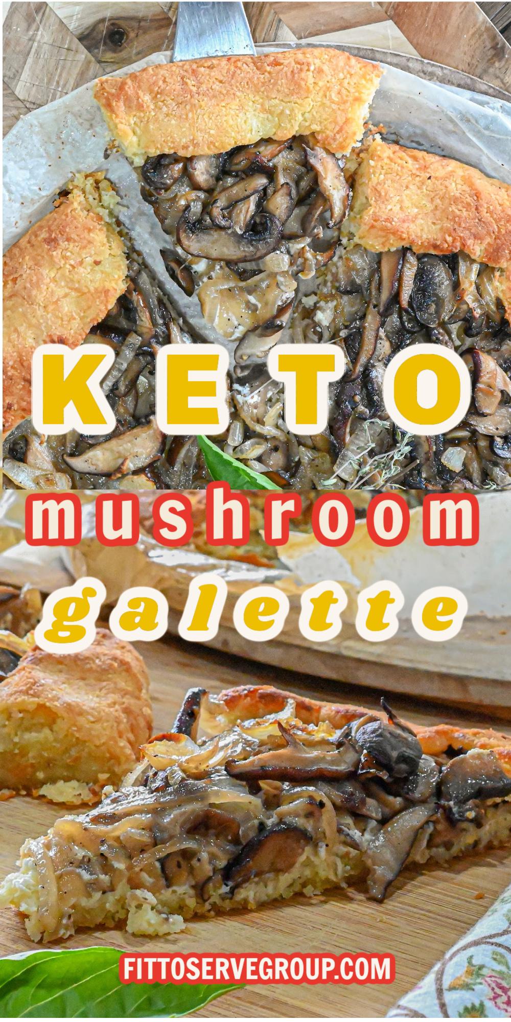 Keto Mushroom Galette
