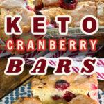 Keto Cranberry Bars